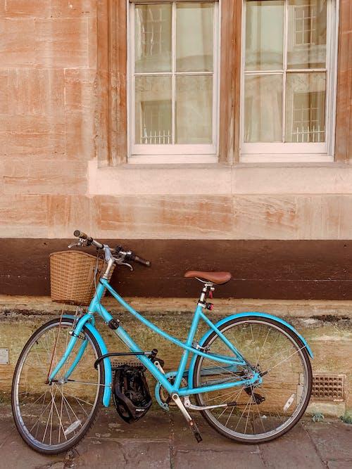Free stock photo of bicycle, bike, blue bike
