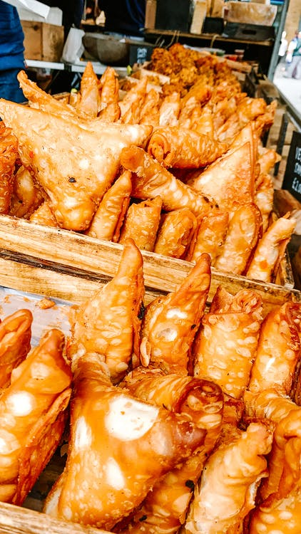 Free stock photo of samosa