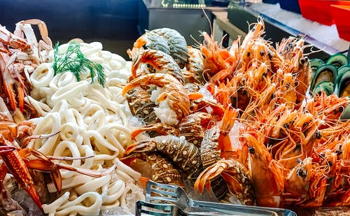 Free stock photo of seafood