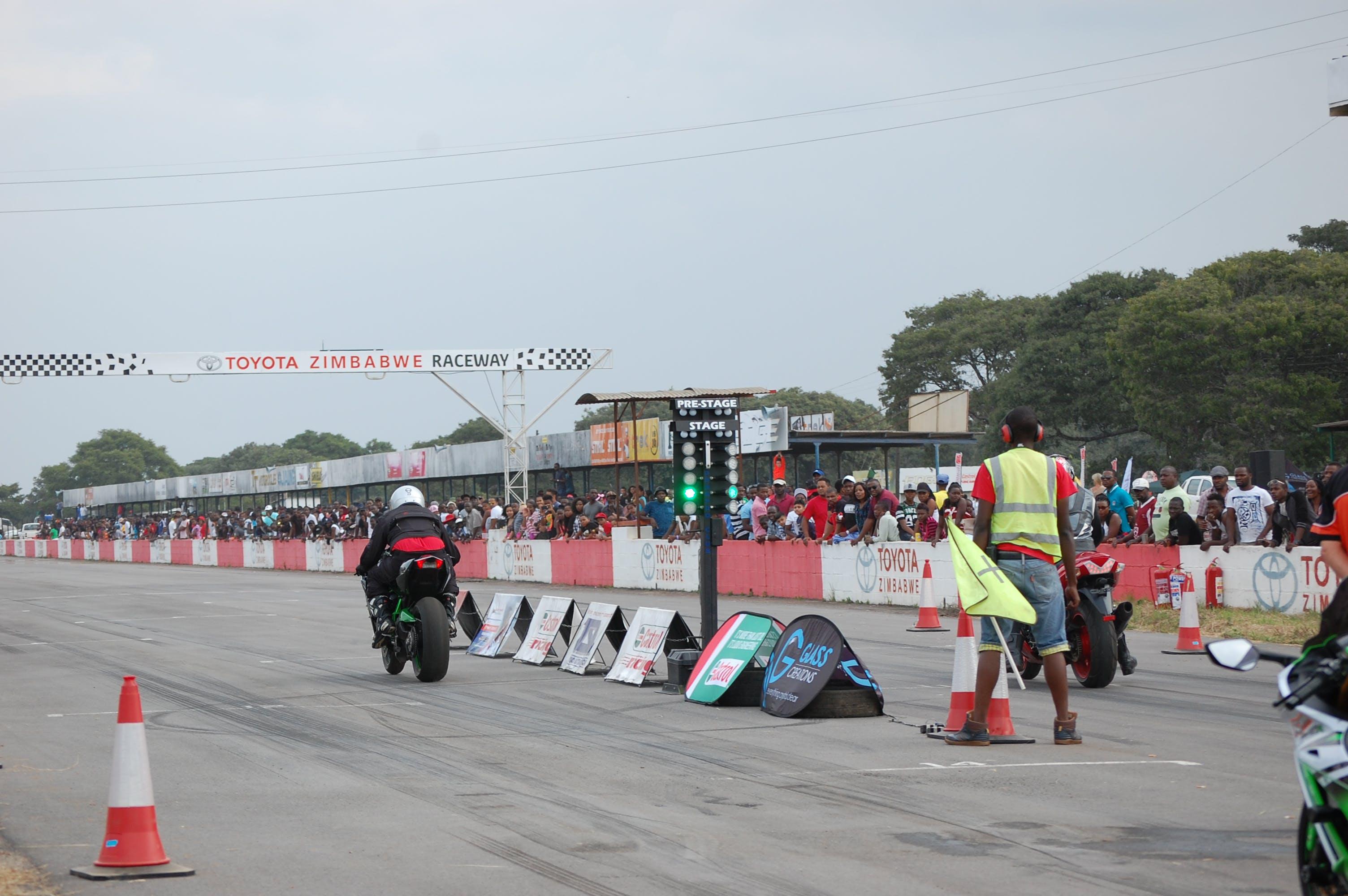 Free stock photo of bike racing, racetrack