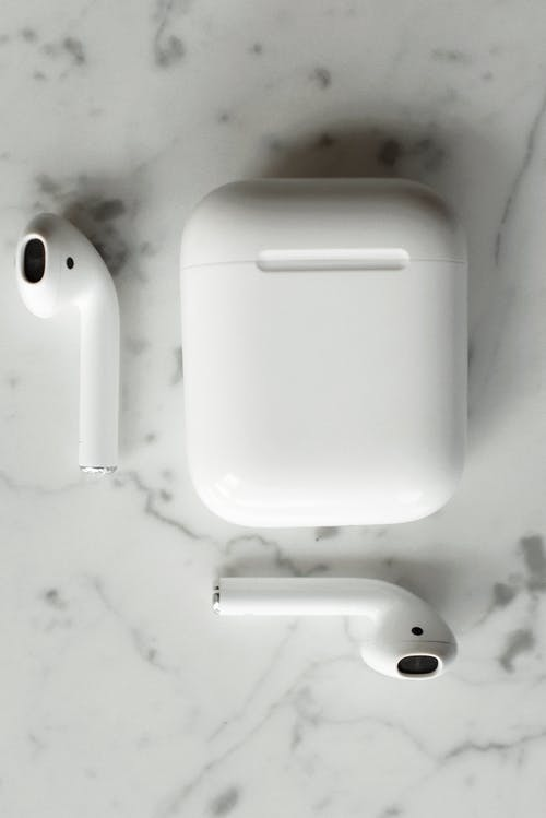 Gratis stockfoto met airpods, beschermhoes, case, close-up
