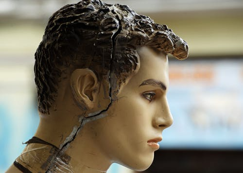 Free stock photo of carefree, cracked, mannequin