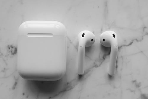 Close-Up Photo of Apple Airpods
