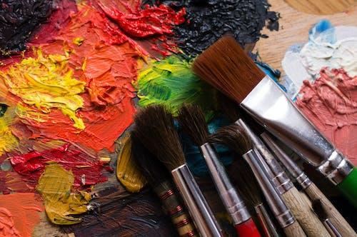 丙烯酸樹脂, 創造力, 塗料 的 免費圖庫相片