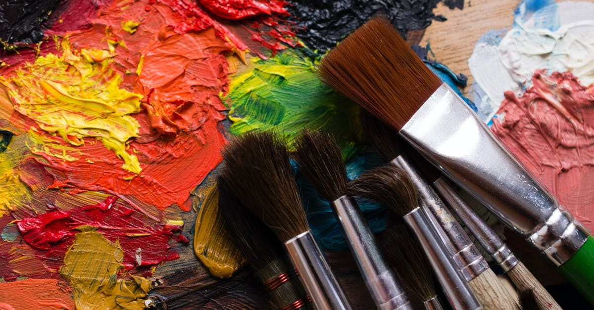Paint And Paint Brushes · Free Stock Photo