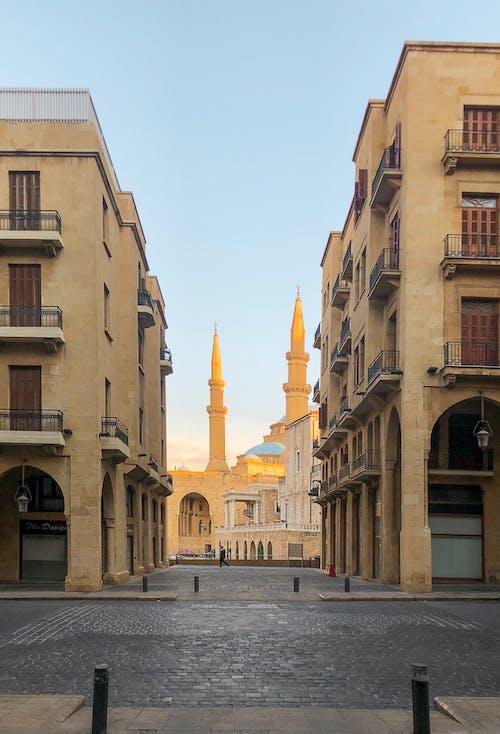 Immagine gratuita di architettura, architettura islamica, beirut