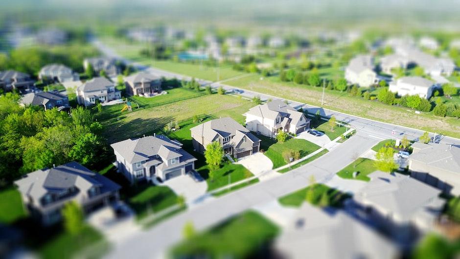 aerial, neighborhood