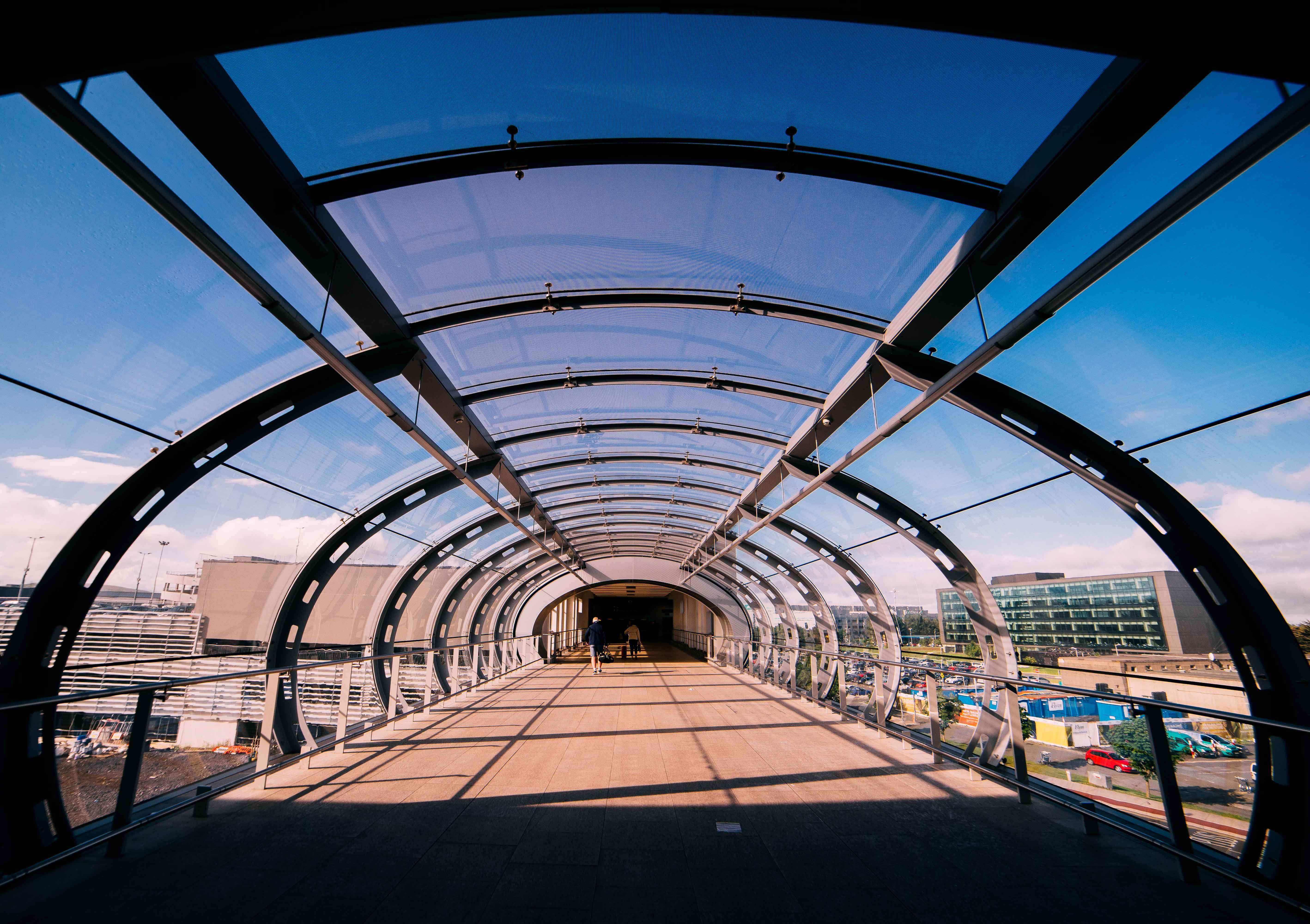 Free stock photo of airport, dublin, symmetrical, symmetric