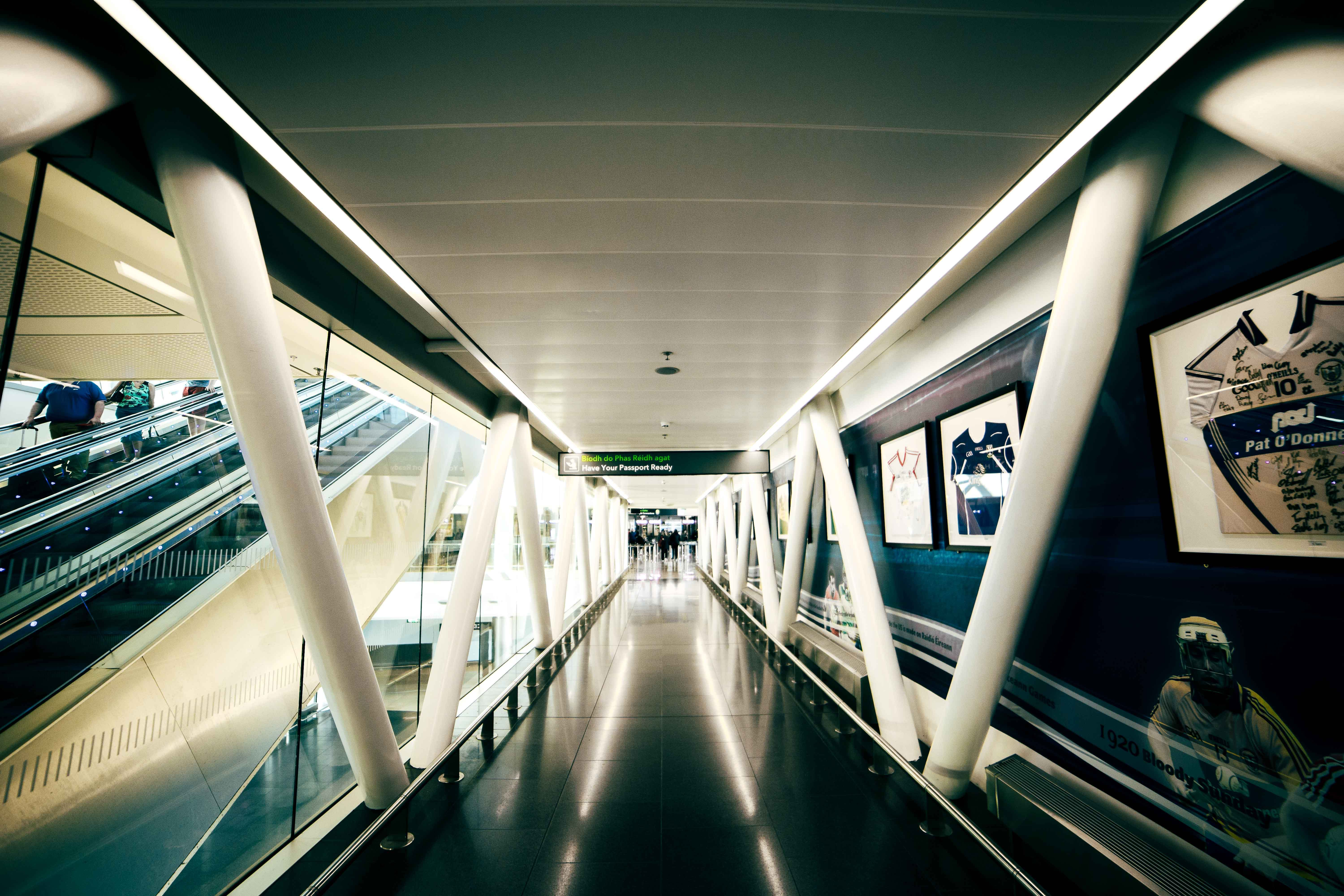 Free stock photo of airport, dublin, hall, Airport gate