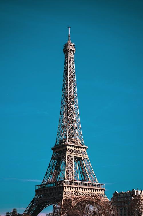 Fotobanka sbezplatnými fotkami na tému architektúra, eiffelova, Eiffelova veža