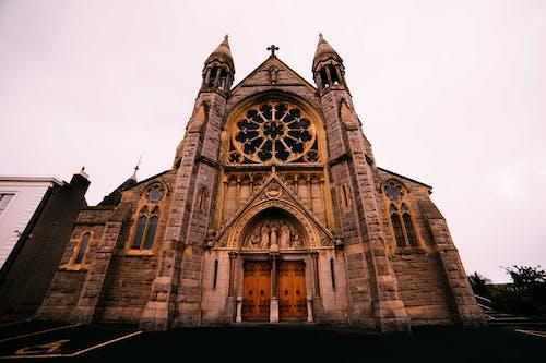 çan kulesi, dun laoghaire, İrlanda, kilise içeren Ücretsiz stok fotoğraf