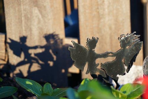 Free stock photo of fairies, garden, shadow