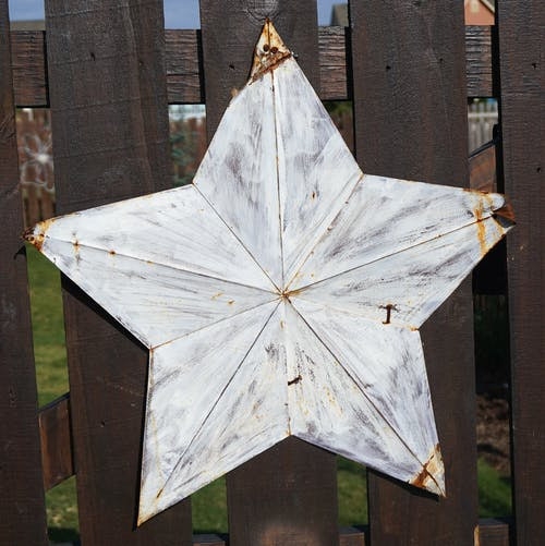 Free stock photo of antique, rustic, star