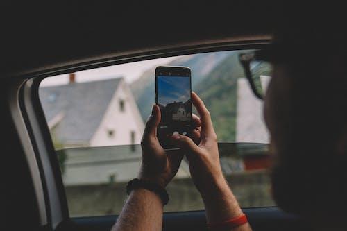 Δωρεάν στοκ φωτογραφιών με smartphone, άνδρας, άνθρωπος, άτομο