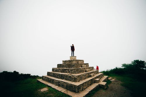 abide, dağ, seyahat etmek içeren Ücretsiz stok fotoğraf