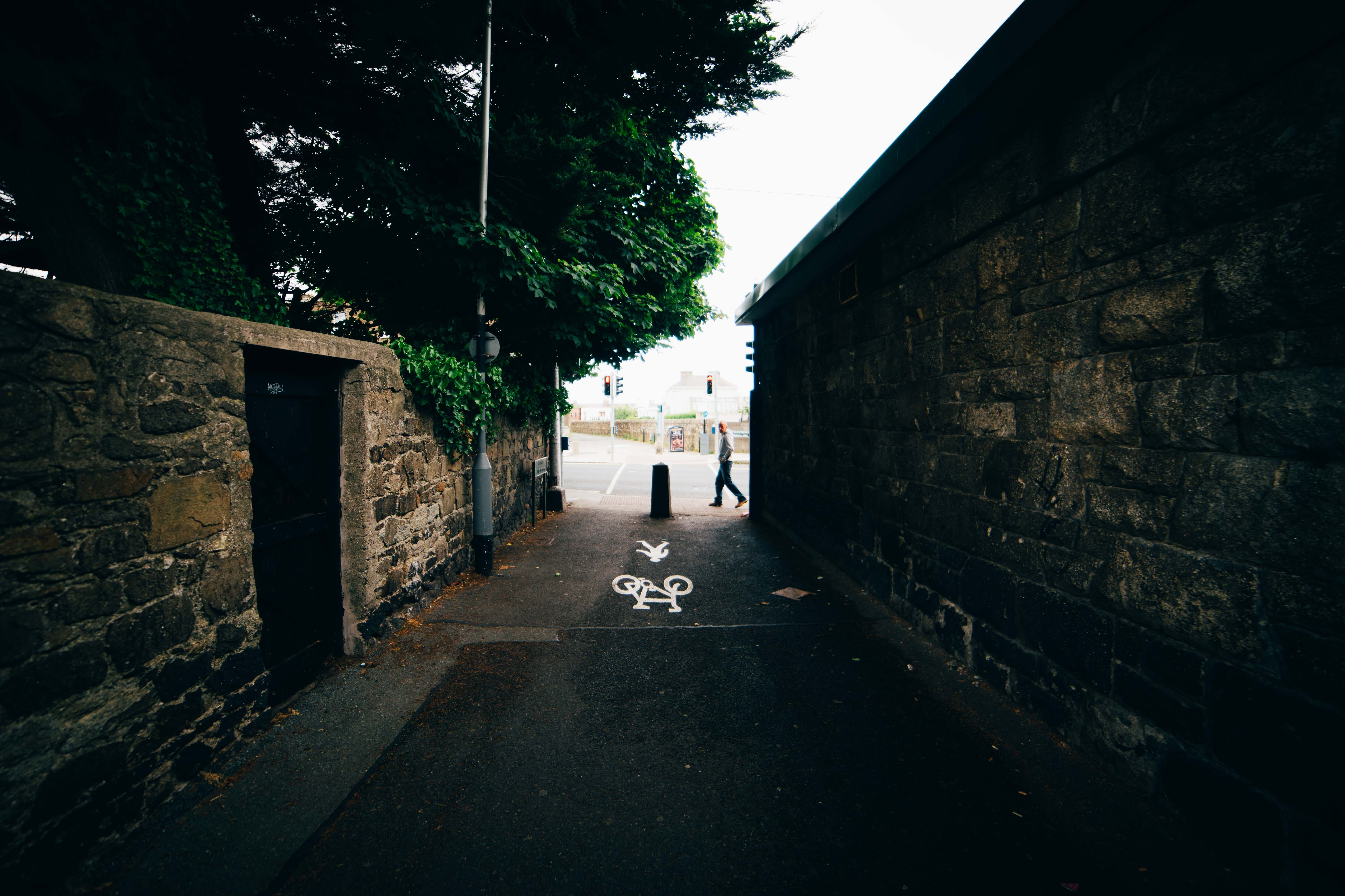 Free stock photo of alley