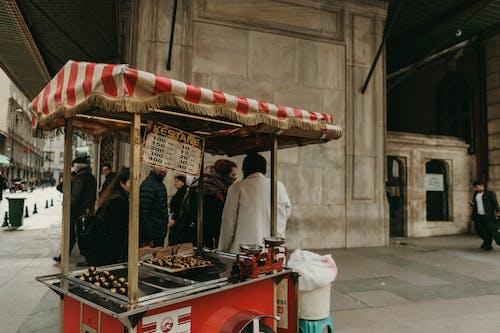 Food Cart On The Street