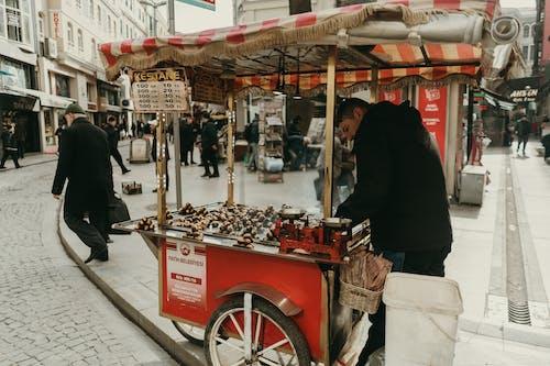 Photos gratuites de caddie, chariot, charrette, fournisseur