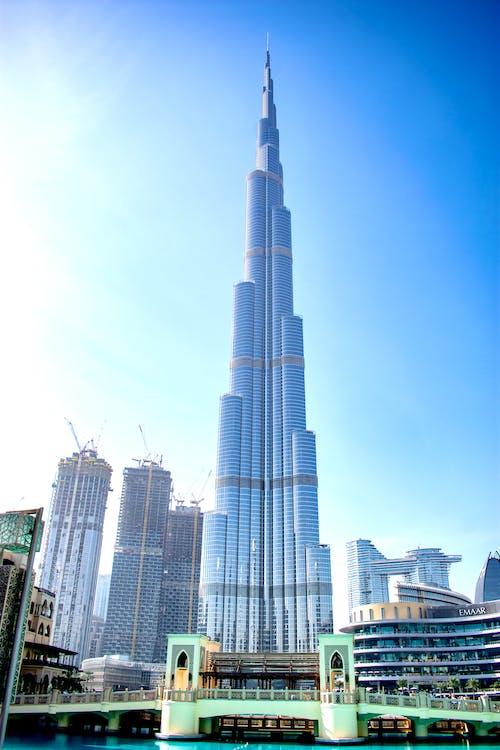 Ảnh lưu trữ miễn phí về Burj Khalifa, cảnh quan thành phố, cao, dubai