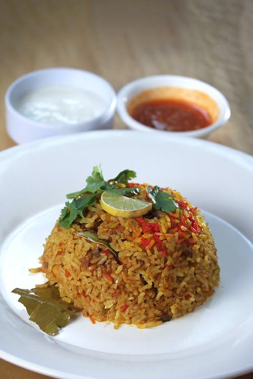 Fotos de stock gratuitas de arroz, arroz frito, comida