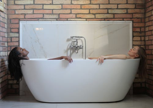Women In A Tub