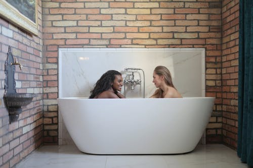 Women In A Bathtub