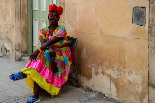 Free stock photo of black woman, cigarette, cuba, cuban woman