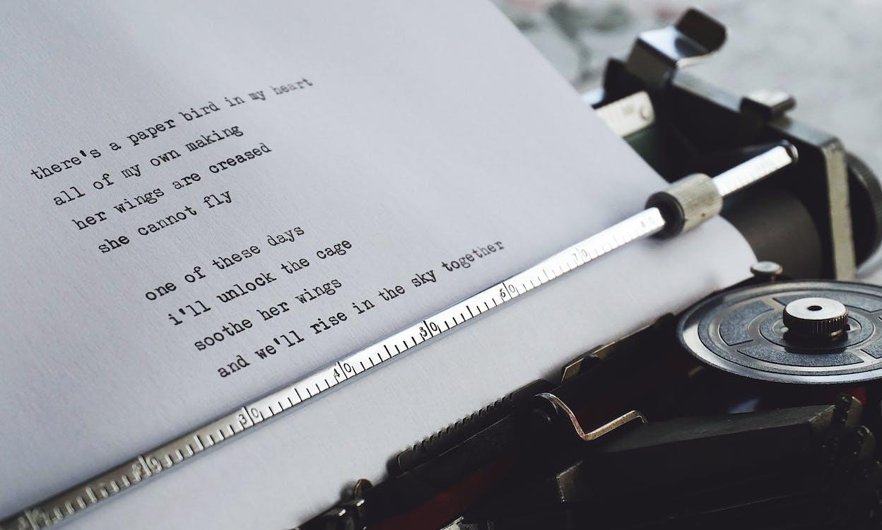 Weißbuch Mit Schwarzem Text