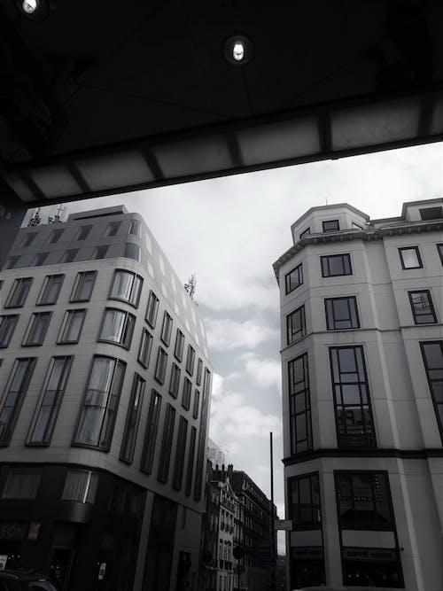 市中心, 建築, 視角 的 免费素材图片