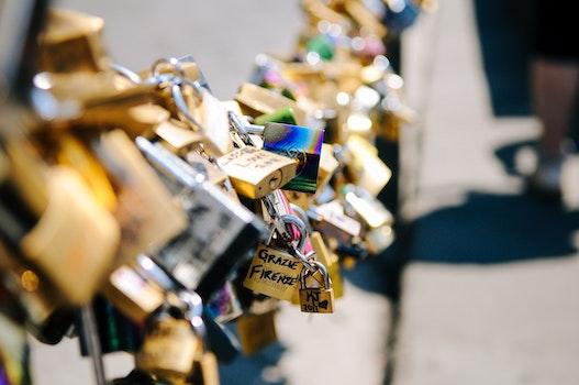 Free stock photo of love, romantic, relationship, locks