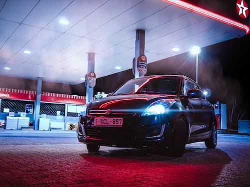 Free stock photo of Adobe Photoshop, feux de voiture, la nuit
