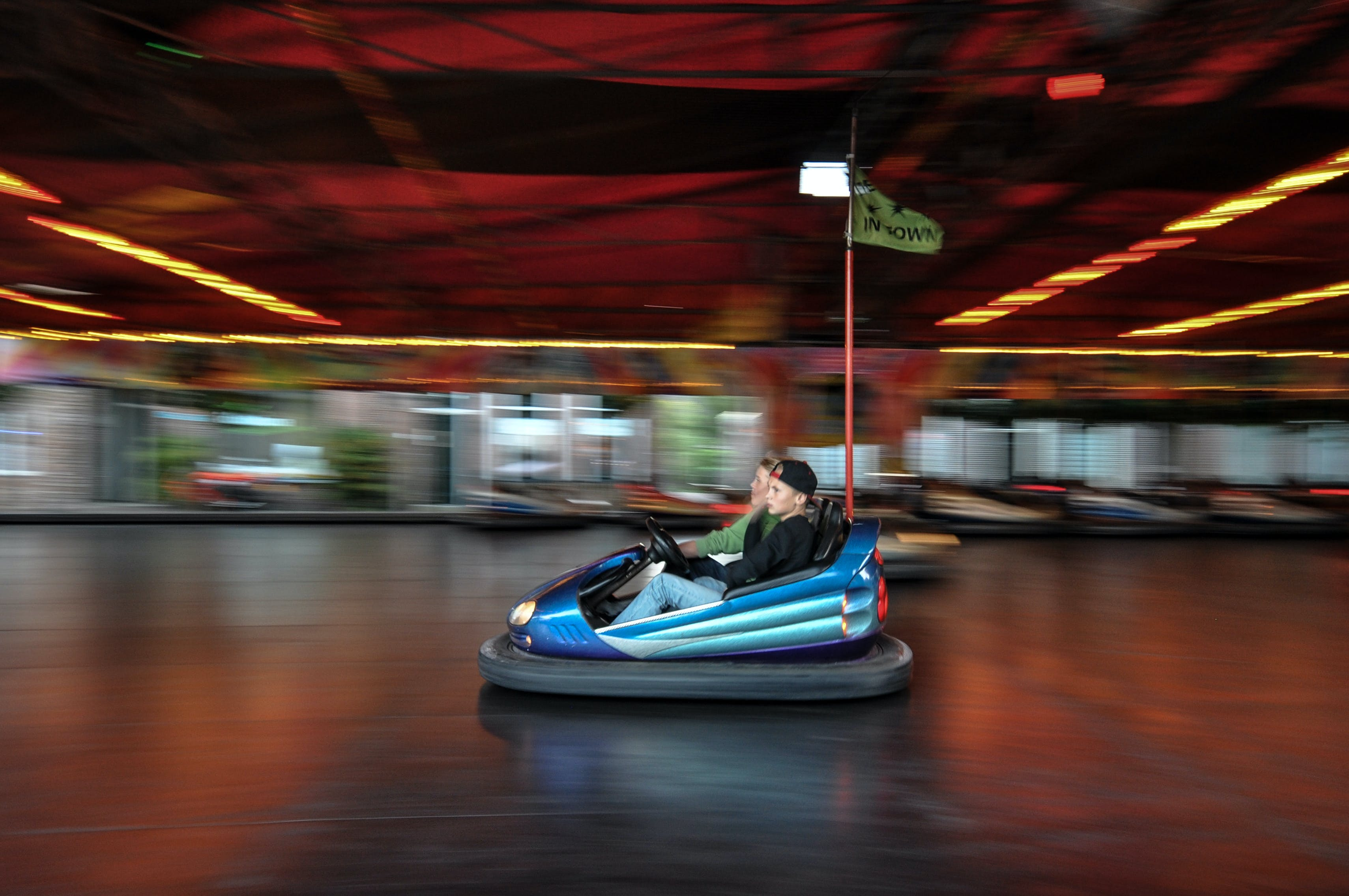 Free stock photo of funfair, fair, fun fair, bumper car