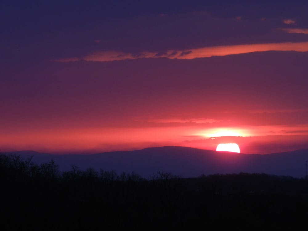 Free stock photo of blue ridge mountains, mountain sunrise, sunrise