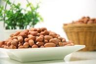 food, nuts, bowl