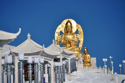Free stock photo of buddha, fotografia di viaggio, oro