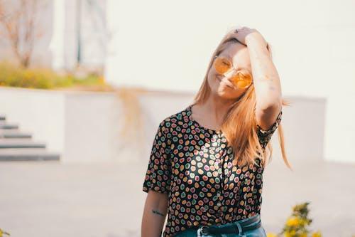 Ilmainen kuvapankkikuva tunnisteilla aurinko, hauska, huivi, ihmiset