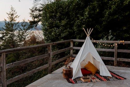 Gratis lagerfoto af afslapning, bjerg, boho, camping