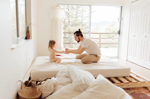 Ingyenes stockfotó anyaság, apa, apa és gyermeke, apaság témában