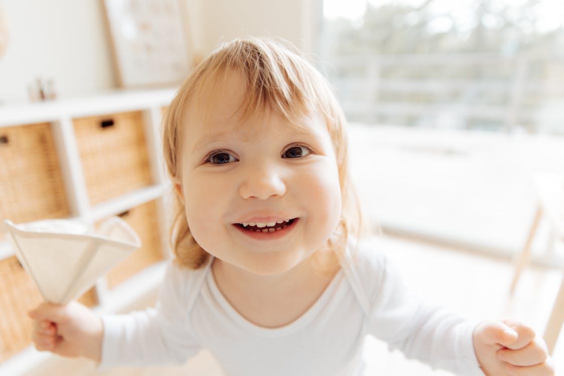 Close-Up Photo Of Toddler