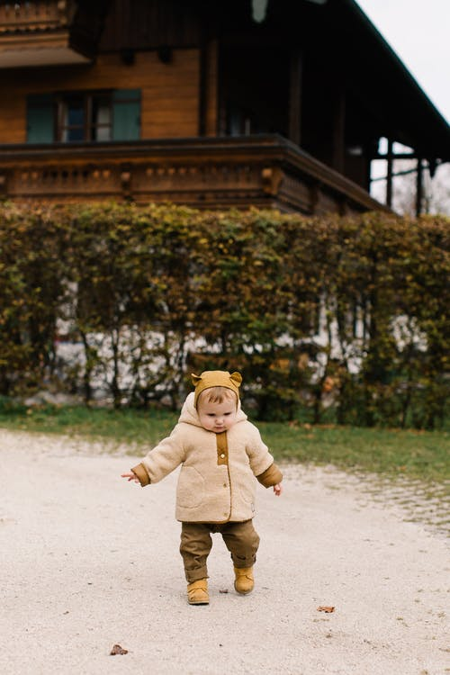 Photo Of Toddler Wearing Jacket