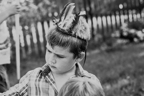 Ingyenes stockfotó buli, fekete-fehér, fiú, gyermek témában