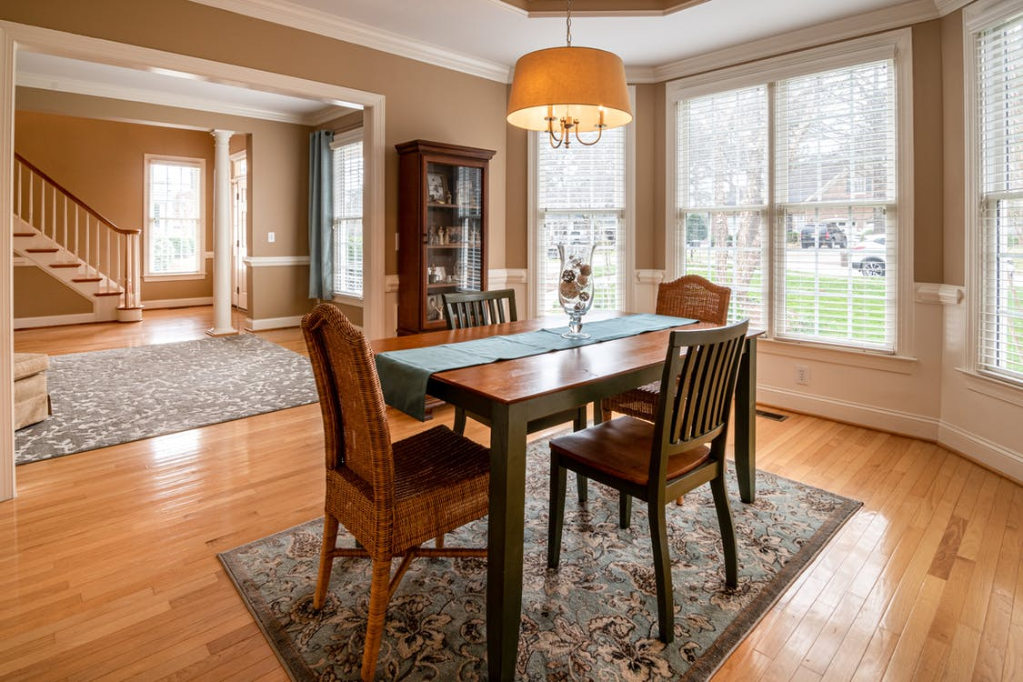 Photo Of Wooden Table On Top Of carpet