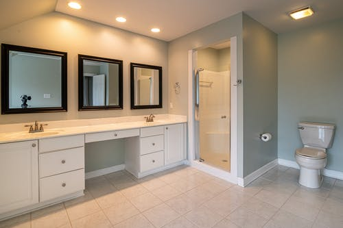 Photo Of Ceramic Sink Near Washroom