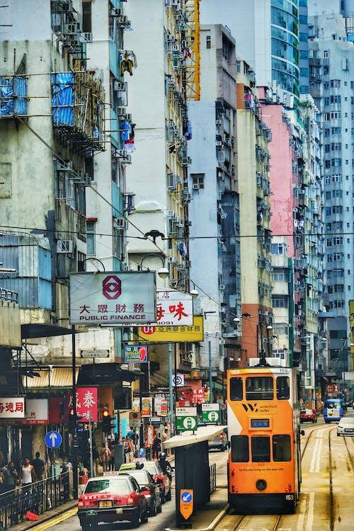 Gratis arkivbilde med by, bygning, gate