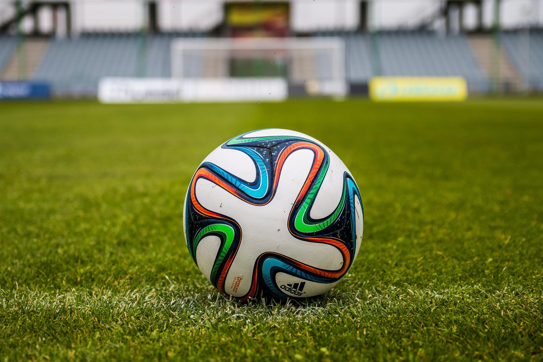Adidas Soccer Ball on Grass Open Field