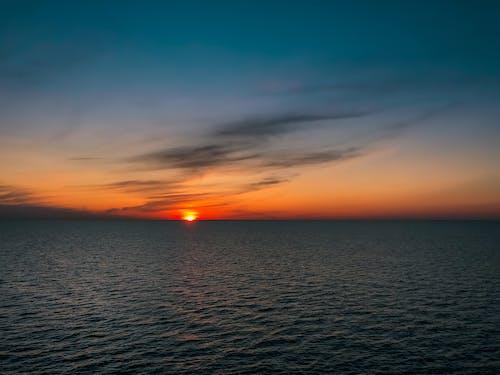 Δωρεάν στοκ φωτογραφιών με 4k ταπετσαρία, αυγή, αυγή σούρουπο, γραμμή ουρανού