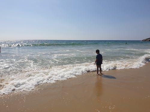 Free stock photo of india, kerala, Kid on the Beach