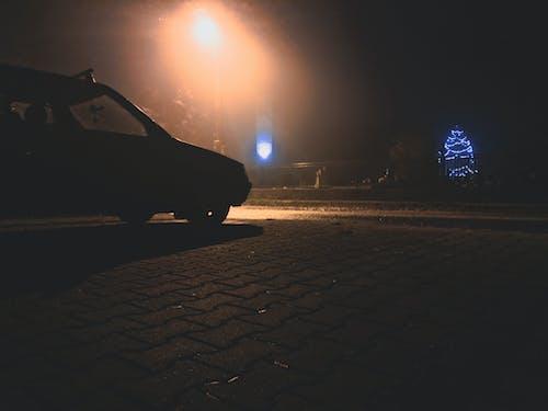 Free stock photo of automobile, black car, mystic