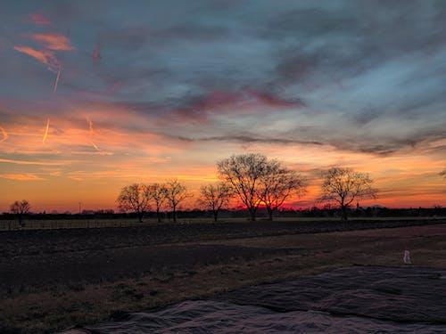 Free stock photo of beautiful sunset, golden sun, sunset colors