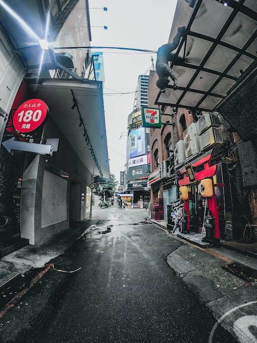 Free stock photo of black, street, taiwan